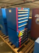 (2) Blue (vidmar like) Tool Boxes Rigging Price: $100