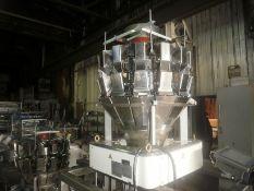 Ishida 14 head rotary combination net weigher, model: CCW-R 214W-1S/15-PB. Serial # 50191,