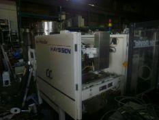 Barry Wehmiller Hayssen Servo II 13-19HR Vertical Form Fill Seal Machine, Allen-Bradley SLC50/3