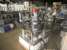 Ishida 14 head rotary combination net weigher, model: CCW-R 214W-1S/15-PB. Serial # 50192, year of m