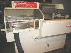 Damark APS ST1624 Full Auto L Bar Sealer, Serial #5045, 220v/1ph/60hz, 1/8 hp motor, Portable,