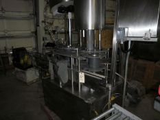 DICO 4 Head Pick & Place Capper, Serial number: 2540, SS Construction, Dico Cap sorter, up to