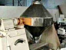 """40 Cubic Feet Stainless Steel Double Cone Blender, 2B finish, 60"""" dia x 21"""" Long cones, 12"""" straight"""