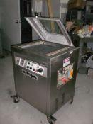 "13. SS C300 Multivac Vacuum Bag Sealer, 18"" X 18""x 3""Deep Sealing Area, Double Seal Bars, Portable,"