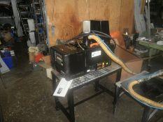 Mel-ton Hot Melt Glue System Model 8KG, Serial # 3885, 230v/400v., c/w 1 used 8 ft. Hose Vacuum Fee