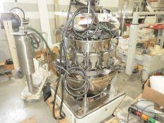 Ishida 14 Bucket Rotory Combo net weigher, CCW-R-214W 1S/15-PB Serial # 50191, Mfg 2007, INCOMPLETE,