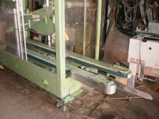 """Little David LD 00 Top and Bottom Case Sealer, 2"""" Tape Heads, Extra-long side belts, Portable, in ex"""