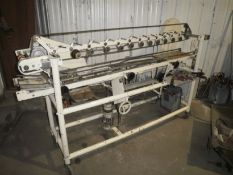 401/502 Roll through labeler, cold glue, handles 401 & 502 cans, in good working condition, MFG: i