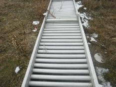"""SS Roller Conveyor, 30"""" wide x 12'-0"""" long, ,Low level unit with 6"""" legs, Al SS Construction, in exc"""