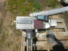 Videojet Laser Marking system, Model S10 Encore. c/w Stand, QWERTY controls, Videojet Laser