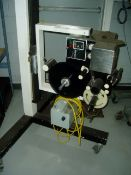 "Labelaire Model 2111 Pressure Sensitive Labeler, Serial #6-850-06, 115v, 4 1/2"" Web, T Stand"