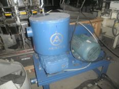AERZEN GMA 12.4 Roots Rotary Piston Vacuum Blower, Type GMA 12.4,c/w 15 HP Leeson Wattsaver motor,