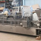 Autoprod Edgeless Pizza Decorating Line, Made: Autoprod The machine was rebuilt in 2016 by a client,