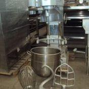Masser New 60 qt Mixer, Model: R60A, Serial: 7x070./B60A/50083 Capacity: 60lt, Energy: 380V, 60Hz,