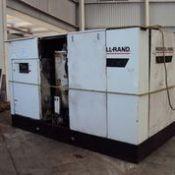 Ingersoll Rand Compressor, Model: SSR-XF125, Serial: F37904U01031 Capacity: 655CFM, Rated