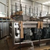 One meter all food heavy duty rotary moulder, Three SEW motors and agear boxes, Allen Bradley