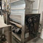 """TL Green stainless steel Sheeting line, 48"""" Wide, Rigging and Loading Fee: $500 Crates and Palle"""