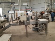 """Bar Forming Line Home Made, 24 """" Wide, Rigging and Loading Fee: $150 Crates and Pallets extra"""
