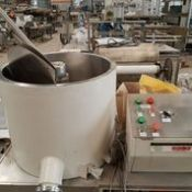 Chocolate Tempering Unit, Model: TMA100/1, Serial: 2043, Made: GELE Energy: 220V, 60Hz, Rigging an
