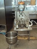 Alfa 20qt Mixer with bowl and parts, Model 2020, Capacity: 20qt, Energy: 110V, 60hp, 1ph, Mixer