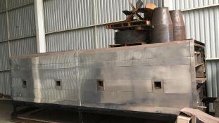 "APV Oven, Wide: 48"" Energy Gas Fired Oven dual burner ( no contorls, no buners, no gas trains , no"