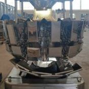 Multi Weigh 14 Head Scale 2018 Model, Stainless Steel, Rigging and Loading Fee: $200 Crat