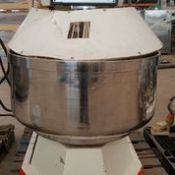 L and M Spiral Mixer, Model: ISP120, Serial: 0228, Energy: 220V, 60Hz, 3ph, 30Amps