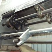 """APV 40´ Ecentric Guillotine, Made: APV Working Wide: 40"""", Rigging and Loading Fee: $50 Cr"""