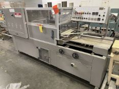 """CS 5600 Copatta Tray Sealer with Heat Tunnel, 16"""" Wide Feed Belt Rigging/Loading Fee $50"""