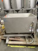 """Feed Hopper with Auger, 20"""" Wide x 32"""" L x 20"""" Deep Rigging/Loading Fee $50"""