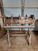 5-head gravity fed bottler, by G&F manufacturing co ***Note from Auctioneer*** __NO LOADING FEE /