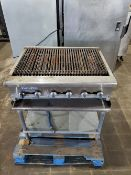 Radiance char-broiler 6 burner natural gas Serial# - R313110038 Model# - TarB 36 15,000btu/hr