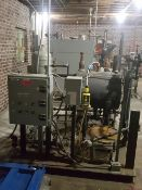 Used byron boiler Model DR650-S150-FDG 15 HP rated650/325 imput MBH 520 output MBH unit has 103