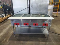 Kitma electric hot table Model# - KSTEA-4 Voltage 120 volts Date- 09-2019