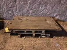 "Hammermill Wear Plates, 73.5"" Long x 45"" Wide x 2"" Thick, Rigging Fee: $100"
