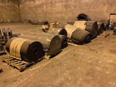 Spare Conveyor Belt (All Pictured), Rigging/ Removal Fee: $1,200