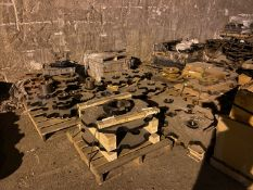 Conveyor Drive Chain, Sprockets and Spare Parts (All Pictured), Rigging/ Removal Fee: $1,500