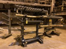 Miscellaneous Augers and Racks (All Pictured), Rigging/ Removal Fee: $350