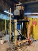 Industrial Pump w/ Motor, Rigging/ Removal Fee: $250