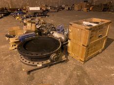 Miscellaneous Valves (All Pictured), Rigging/ Removal Fee: $1,200