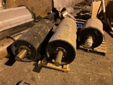 Conveyor Spare Parts (All Pictured, No Belts or Magnetic Drum), Rigging/ Removal Fee: $1,200