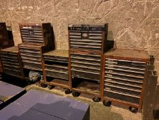 Miscellaneous Toolboxes (All Pictured), Rigging/ Removal Fee: $175