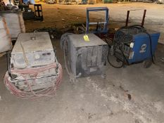 Miscellaneous Welders, Qty 3 (All Pictured), Rigging/ Removal Fee: $175