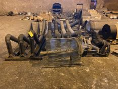Conveyor Spare Parts (All Pictured, No Belts), Rigging/ Removal Fee: $1,000