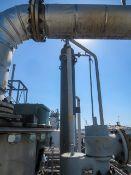 "Condenser. Heat exchanger Shell & Tube. Vertical. Size approx 16"" O.D. dia x 136.6 "" long. Heat"