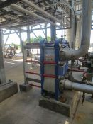 Alfa Laval plate heat exchanger Model TS20-MFG. Has 72 plates 0.6 mm for Rigging/Loading Fee: $850