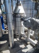 Vertical Tank heater. Enerquip SN 18303. ASME Nat'l Bd# 15963 MAWP . Used as Polisher feed tank