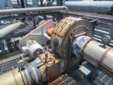 Belt driven blower driven by 10 HP motor 10/460/1800/215T, Rigging/Loading Fee: $1000