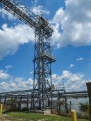 GSI Bucket elevator leg 12 x 18 x 75 ft tall. Model 50P36-75. Designed for DDGS 60 TPH at 40 PCF.