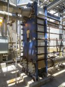 Alfa Laval Plate heat exchanger Model Widegap 350S-FG. Has 50 plates at Rigging/Loading Fee: $1000